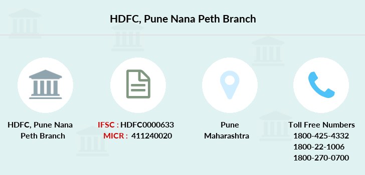 Hdfc-bank Pune-nana-peth branch