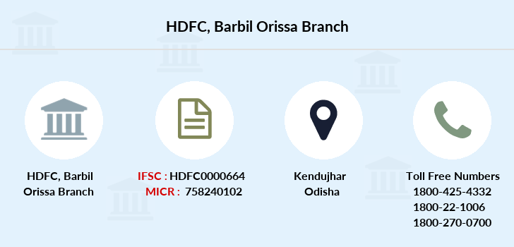 Hdfc-bank Barbil-orissa branch