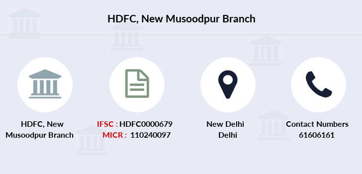 Hdfc-bank New-musoodpur branch