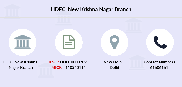 Hdfc-bank New-krishna-nagar branch