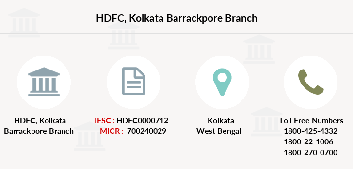 Hdfc-bank Kolkata-barrackpore branch