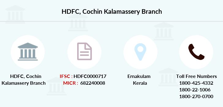 Hdfc-bank Cochin-kalamassery branch