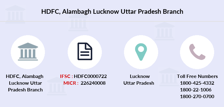 Hdfc-bank Alambagh-lucknow-uttar-pradesh branch