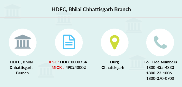 Hdfc-bank Bhilai-chhattisgarh branch