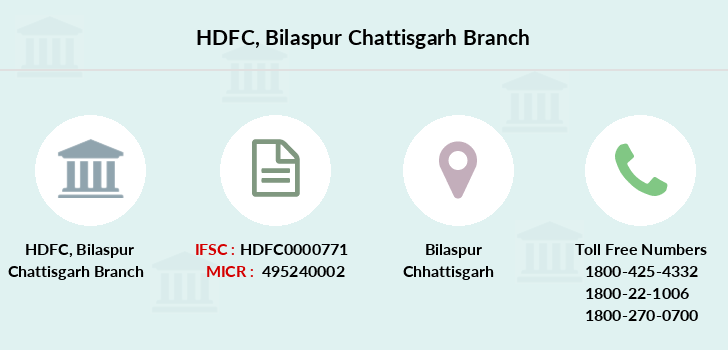 Hdfc-bank Bilaspur-chattisgarh branch