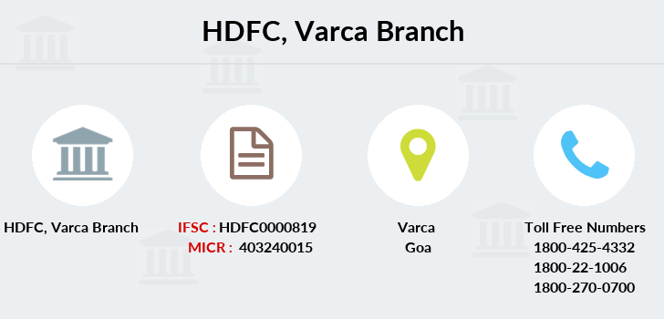 Hdfc-bank Varca branch