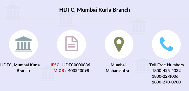Hdfc-bank Mumbai-kurla branch