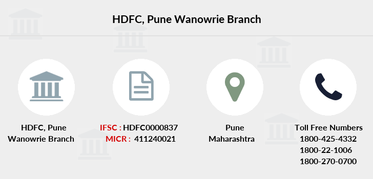 Hdfc-bank Pune-wanowrie branch