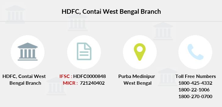 Hdfc-bank Contai-west-bengal branch
