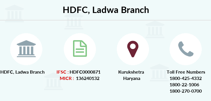 Hdfc-bank Ladwa branch