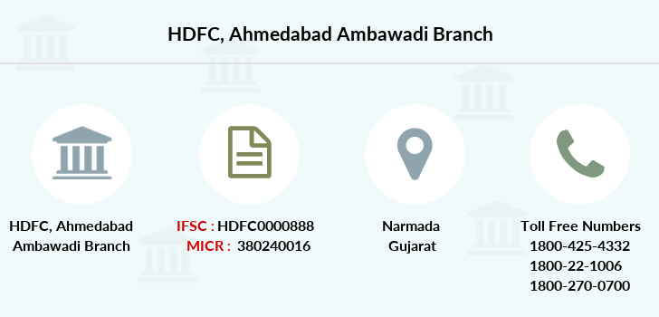 Hdfc-bank Ahmedabad-ambawadi branch