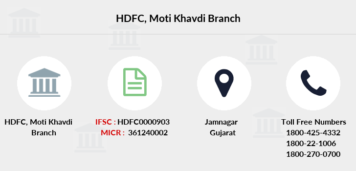 Hdfc-bank Moti-khavdi branch
