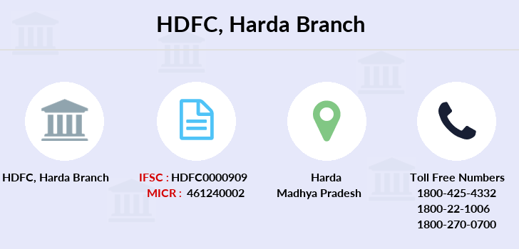Hdfc-bank Harda branch