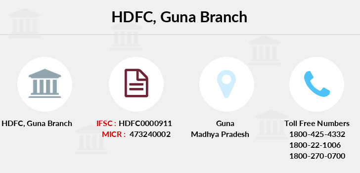Hdfc-bank Guna branch