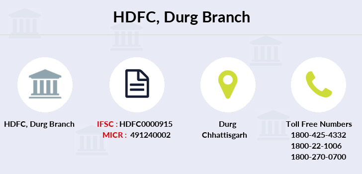 Hdfc-bank Durg branch