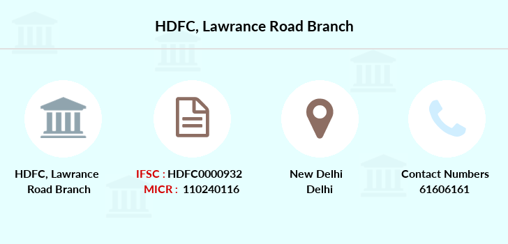 Hdfc-bank Lawrance-road branch