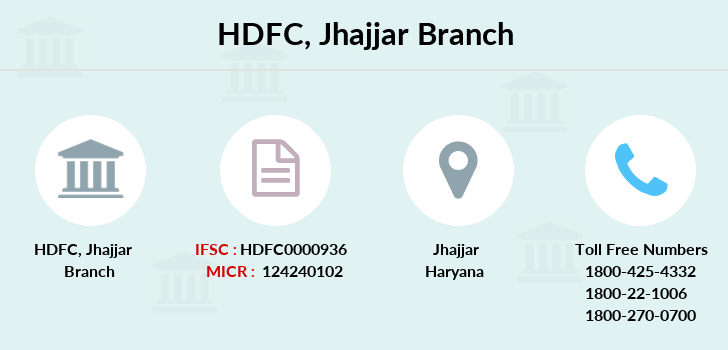 Hdfc-bank Jhajjar branch