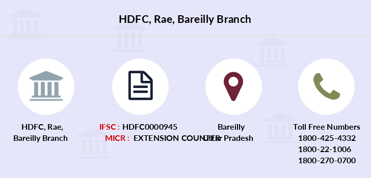 Hdfc-bank Rae-bareilly branch