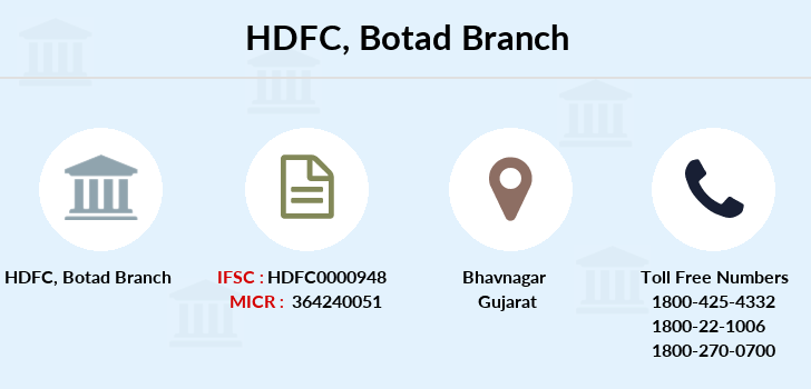 Hdfc-bank Botad branch