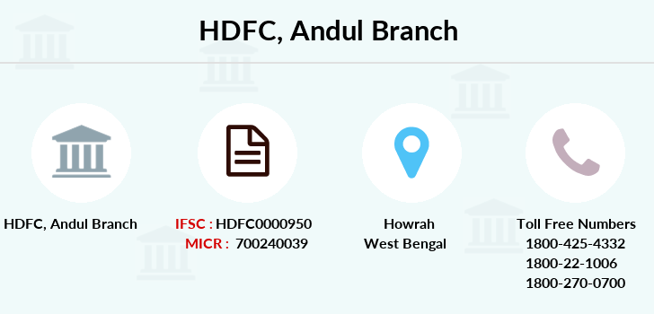 Hdfc-bank Andul branch