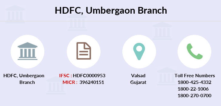 Hdfc-bank Umbergaon branch
