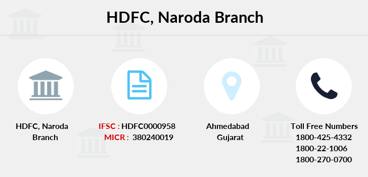 Hdfc-bank Naroda branch