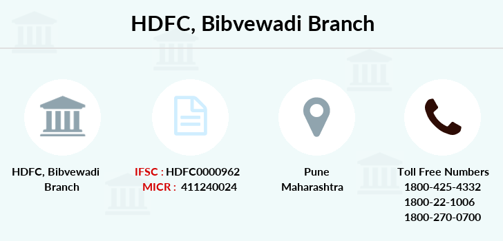 Hdfc-bank Bibvewadi branch