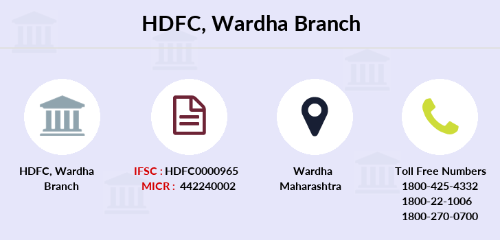 Hdfc-bank Wardha branch