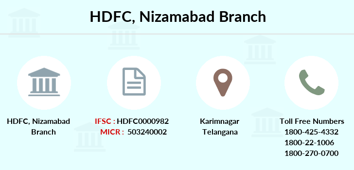 Hdfc-bank Nizamabad branch