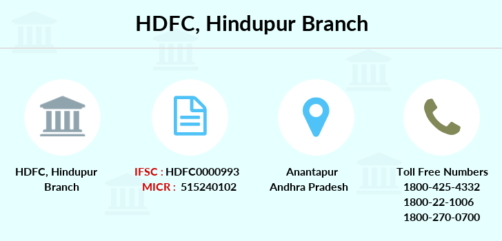 Hdfc-bank Hindupur branch
