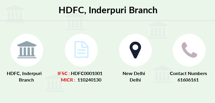 Hdfc-bank Inderpuri branch
