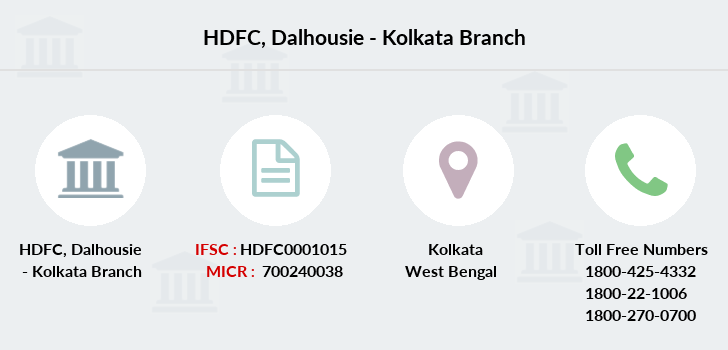 Hdfc-bank Dalhousie-kolkata branch