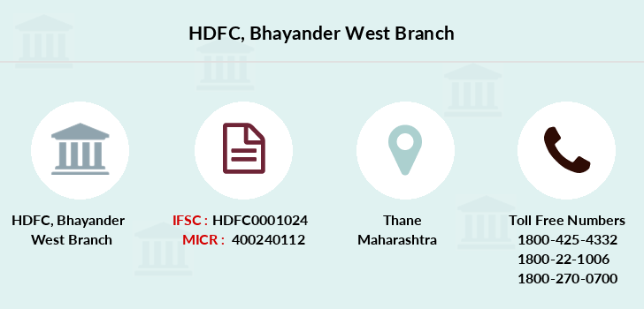 Hdfc-bank Bhayander-west branch