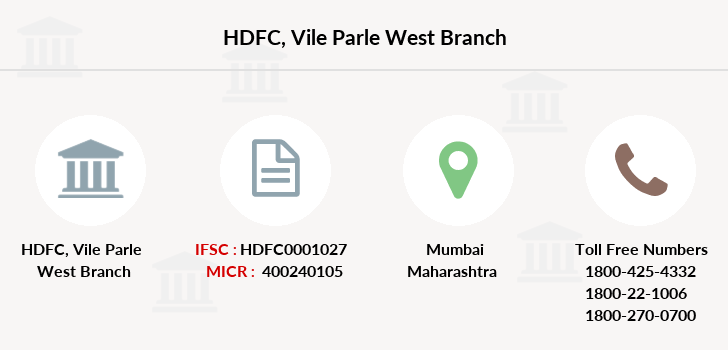 Hdfc-bank Vile-parle-west branch