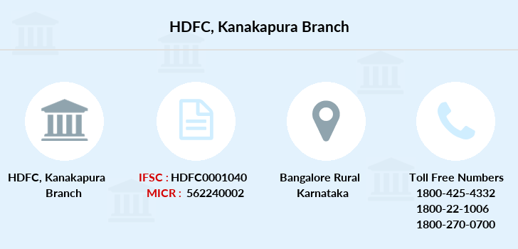Hdfc-bank Kanakapura branch