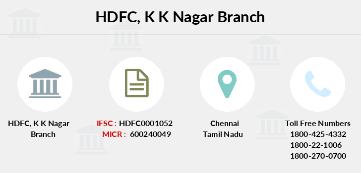 Hdfc-bank K-k-nagar branch