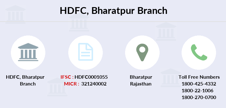 Hdfc-bank Bharatpur branch