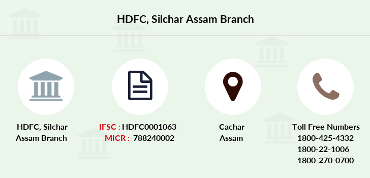 Hdfc-bank Silchar-assam branch