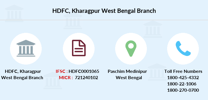 Hdfc-bank Kharagpur-west-bengal branch
