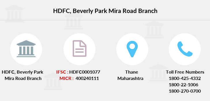 Hdfc-bank Beverly-park-mira-road branch