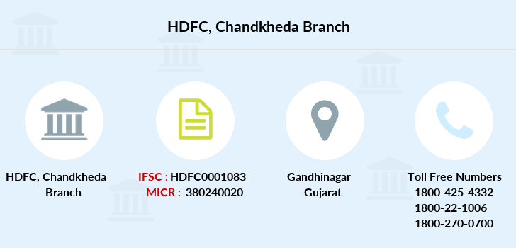 Hdfc-bank Chandkheda branch
