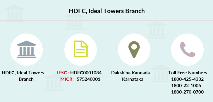 Hdfc-bank Ideal-towers branch