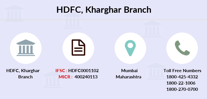 Hdfc-bank Kharghar branch
