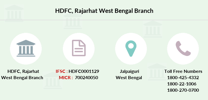 Hdfc-bank Rajarhat-west-bengal branch