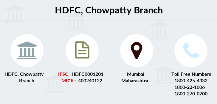 Hdfc-bank Chowpatty branch