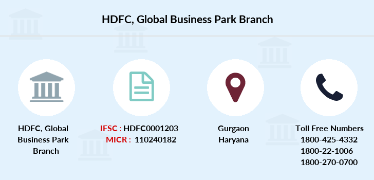 Hdfc-bank Global-business-park branch