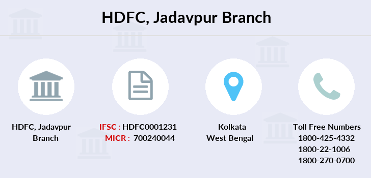 Hdfc-bank Jadavpur branch