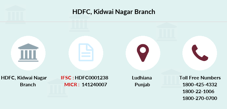 Hdfc-bank Kidwai-nagar branch