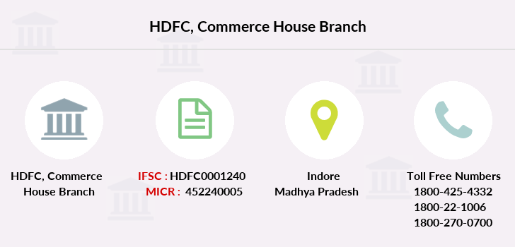 Hdfc-bank Commerce-house branch