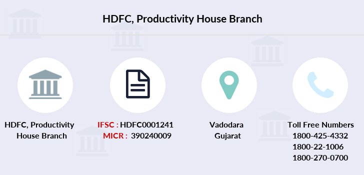 Hdfc-bank Productivity-house branch